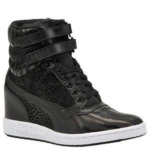 Puma Women's Sky Wedge Reptile Sneaker