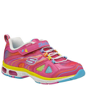 Skechers Girls' S Lights: Light Rays - Sparkle Party (Toddler-Youth)