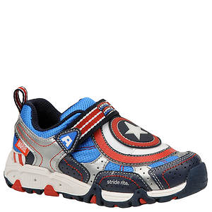 Stride Rite Boys' Captain America Lighted (Toddler-Youth)
