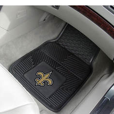 Pair of NFL Heavy Duty Vinyl Car Mats by Sports Licensing Solutions