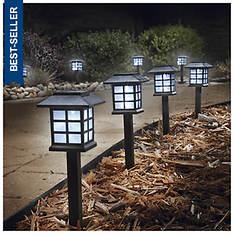 Set of 8 Lantern Solar Lights