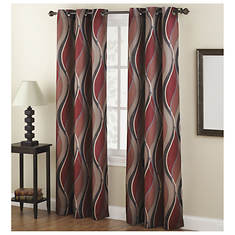 Intersect Grommet Curtains - Opened Item