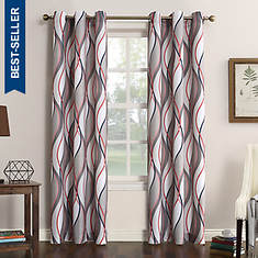 Intersect Grommet Curtains