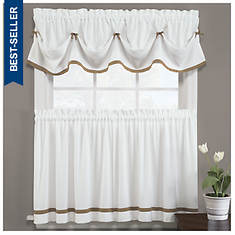 "Kate Tiered Valance (58""Wx13""L)"