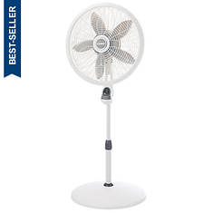 "Lasko® 18"" Adjustable Pedestal Fan With Remote"