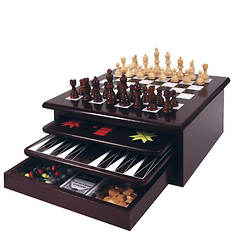 15 In 1 Wooden Game Center