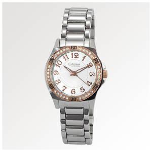 Caravelle by Bulova Women's Crystal Bezel Bracelet Watch