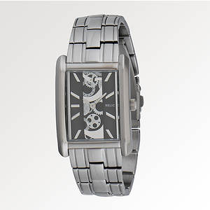 Relic Men's Allen Gunmetal IP Watch