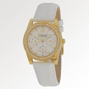 Caravelle By Bulova Women's Crystal Watch