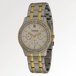 Caravelle By Bulova Men's Two-Tone Bracelet Watch