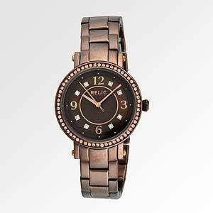Relic Women's Chocolate Madison Watch