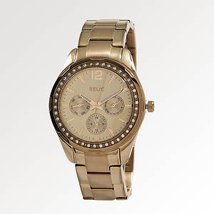 Relic Women's ZR15641 Starla Crystal Watch