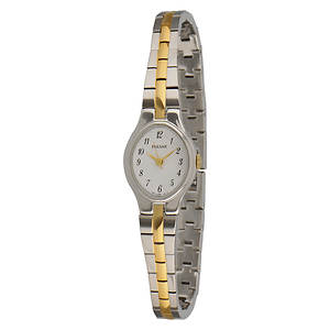 Pulsar Women's Two-Toned Watch With White Dial
