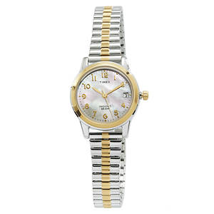 Timex Women's Two-toned Watch With Expansion Band