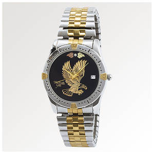 Black Hills Gold Men's Eagle Expansion Watch
