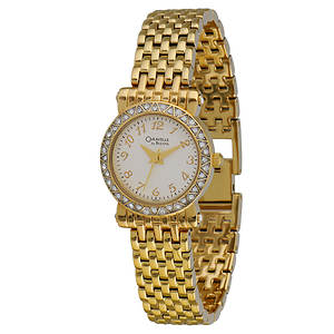 Caravelle By Bulova Women's Crystal Bracelet Watch