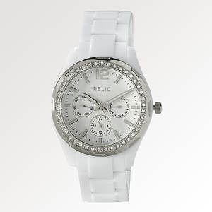 Relic® Women's Crystal Resin Watch