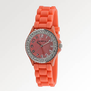 Silicone-Banded Watch