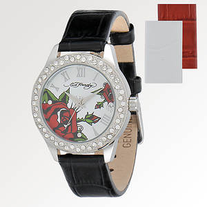 Ed Hardy Women's Vallerie Watch Set