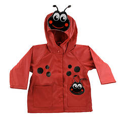Western Chief Girls' Ladybug Raincoat