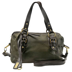 Lucky Brand Double Handle Buckman Satchel