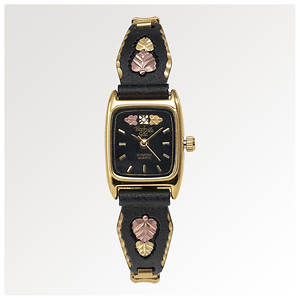 Black Hills Gold Women's Powder-Coated Watch