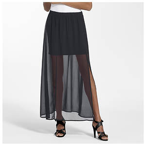 Chiffon Maxi/Mini Skirt