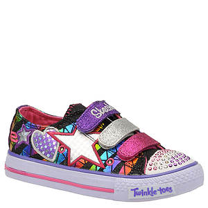 Skechers Twinkle Toes Shuffles Classy Sassy (Girls' Toddler-Youth)