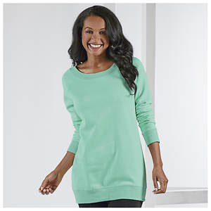 Fleece Scoop-Neck Tunic