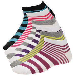 Steve Madden Women's SM26266 6-Pack Low Cut Socks