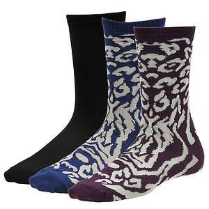 Steve Madden Women's SM26650 3-Pack Crew Socks