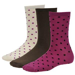 Steve Madden Women's SM26651 3-Pack Crew Socks