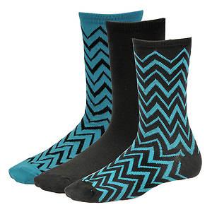 Steve Madden Women's SM26652 3-Pack Crew Socks
