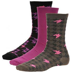 Steve Madden Women's SM26655 3-Pack Crew Socks