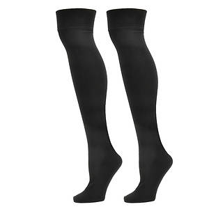 Steve Madden Women's SM25726 2-Pack Over the Knee Socks