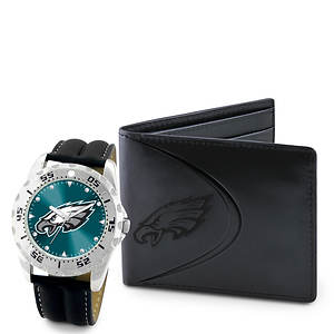 NFL Watch & Wallet Set