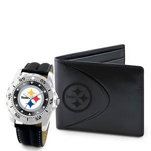 NFL Watch & Wallet Set