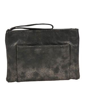 SR Squared by Sondra Roberts Metallic Wristlet Bag
