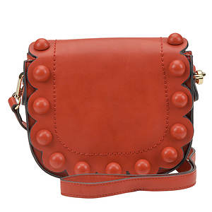 SR Squared by Sondra Roberts Covered Button Crossbody Bag
