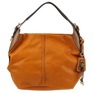 SR Squared by Sondra Roberts Tumbled Hobo Bag