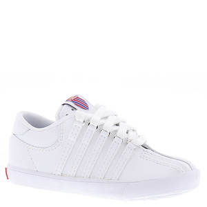 K Swiss Classic Leather Tennis Shoe (Unisex Toddler-Youth)