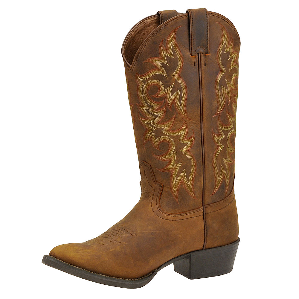 Justin Boots Stampede Western Round Toe Men S Boot