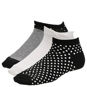 Chinese Laundry Women's 4334 3-Pack Low Cut Socks