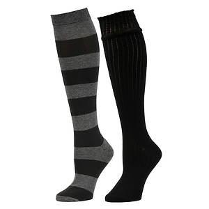 Chinese Laundry Women's 4592 2-Pack Knee High Socks