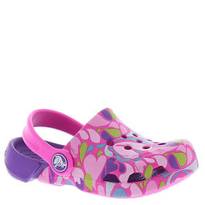 Crocs™ Electro Paisley Print Clog PS (Girls' Infant-Toddler-Youth)