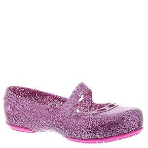 Crocs™ Carlisa Glitter Flat (Girls' Toddler)