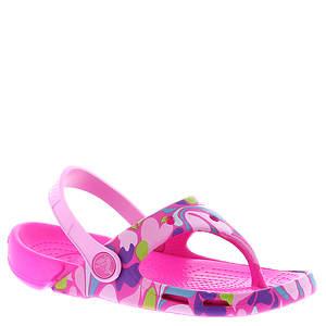 Crocs™ Electro Flip Girls Paisley (Girls' Toddler)