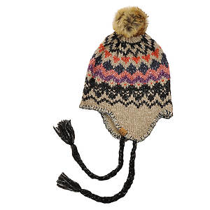 Roxy Harvest Knit Earflap Beanie