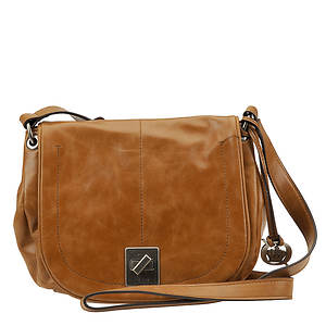 Born Garret Half Moon Flap Crossbody Bag