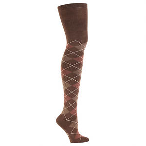 Sock It To Me Women's Argyle Over the Knee Socks